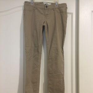 hollister khaki jeans
